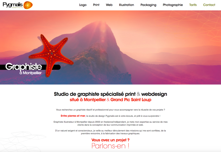 Pygmalis - Studio graphique Print et Web à Montpellier