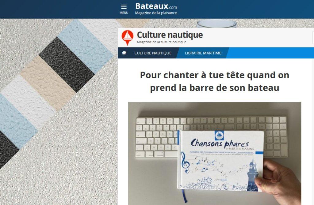 Bateaux.com aime Chansons phares !…