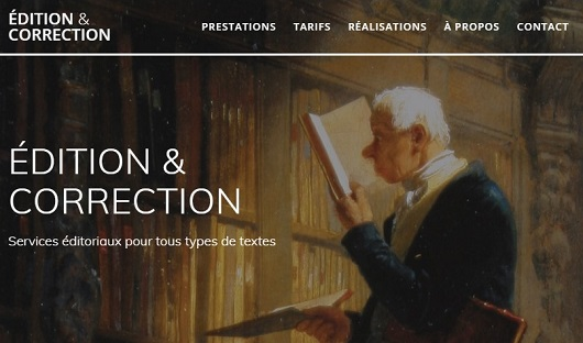 Site web edition-correction.fr